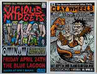 (4) Concert Posters