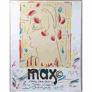 Peter Max/Cherry Creek Gallery Poster