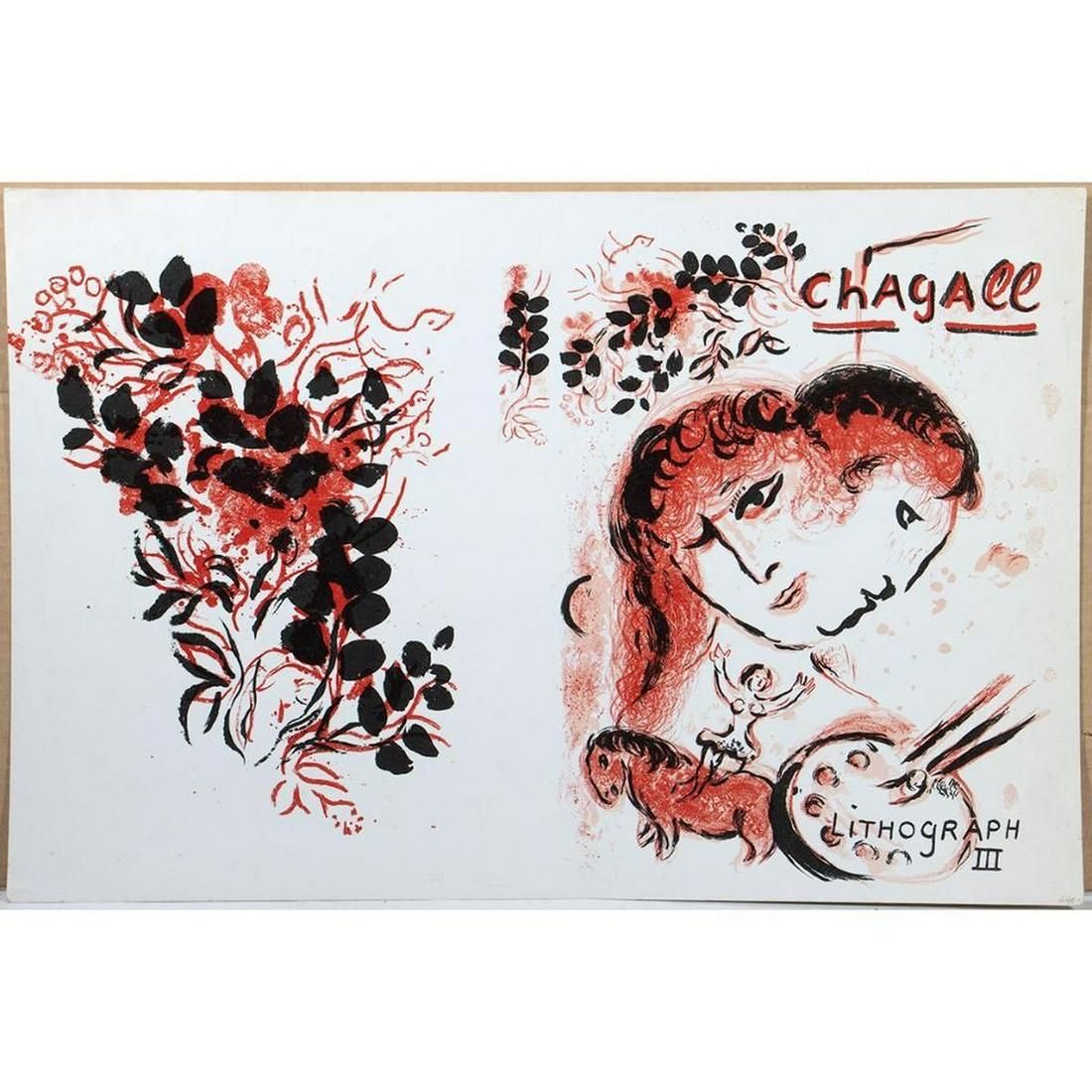 Marc Chagall/Lithograph III