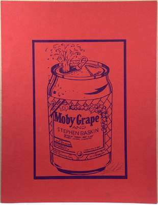 (2) Richard Cook/Moby Grape and Stephen Gasking Posters