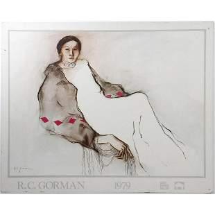 R.C. Gorman Exhibition Poster