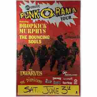 EM Music Punk O Rama Tour Poster