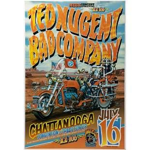 Mega Concert Attractions Presents Ted Nugent Bad