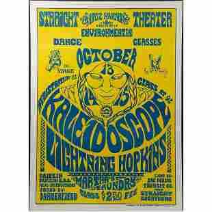 Lightning Hopkins, Kaleidoscope at the Straight Theater