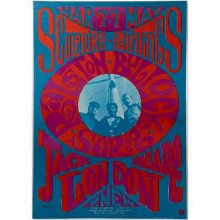 Ralston, John Bullock, Sarig Psychedelic Art Poster
