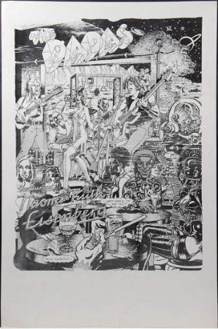 (15) The Dadas & Naomi Ruth Eisenberg Punk Rock Posters