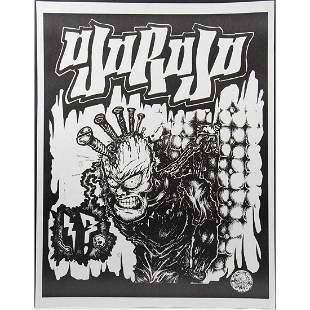 (6) Ojorojo East Bay Menace Punk Rock Posters