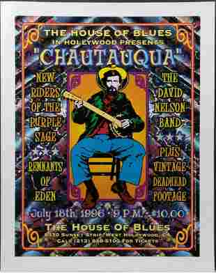 (2) The House of Blues Presents Chautauqua/New Riders