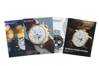 Past Auction Catalogs of fine Watches