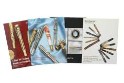 Past auction catalogs of Fine Writing Instruments