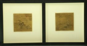 Two 19th-century Japanese Paintings