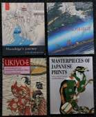 FOUR BOOKS ON JAPANESE WOODBLOCK PRINTS