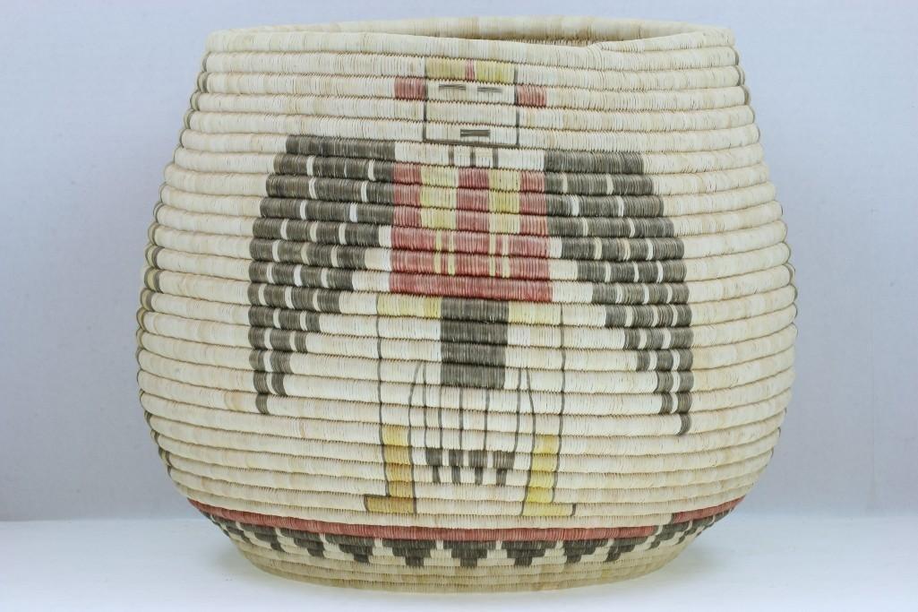 A Hopi basket