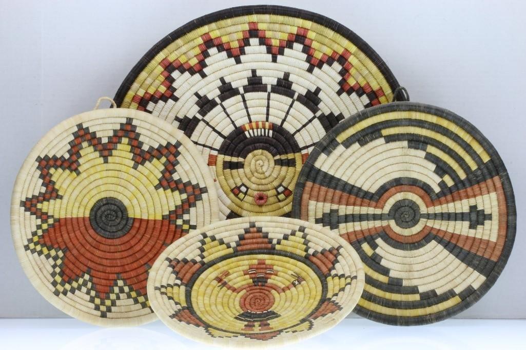 Four Hopi plaques