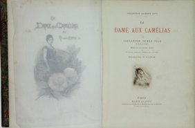 Dumas, Fils Illustrated By A Lynch La Dame Aux Camelias