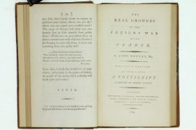 Bowles, Brisot. British Writings French Revolution