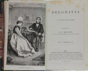 Belgravia Magazine. 1867-1869. 7 Volumes.