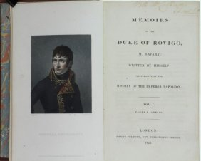 Rovigo. Memoirs Duke Of Rovigo. 1828. Extra Illustrated