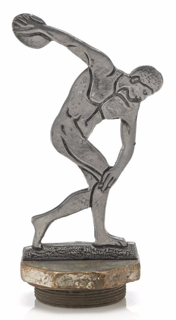 1932 L.A. OLYMPICS MASCOT OF DISCUS THROWER