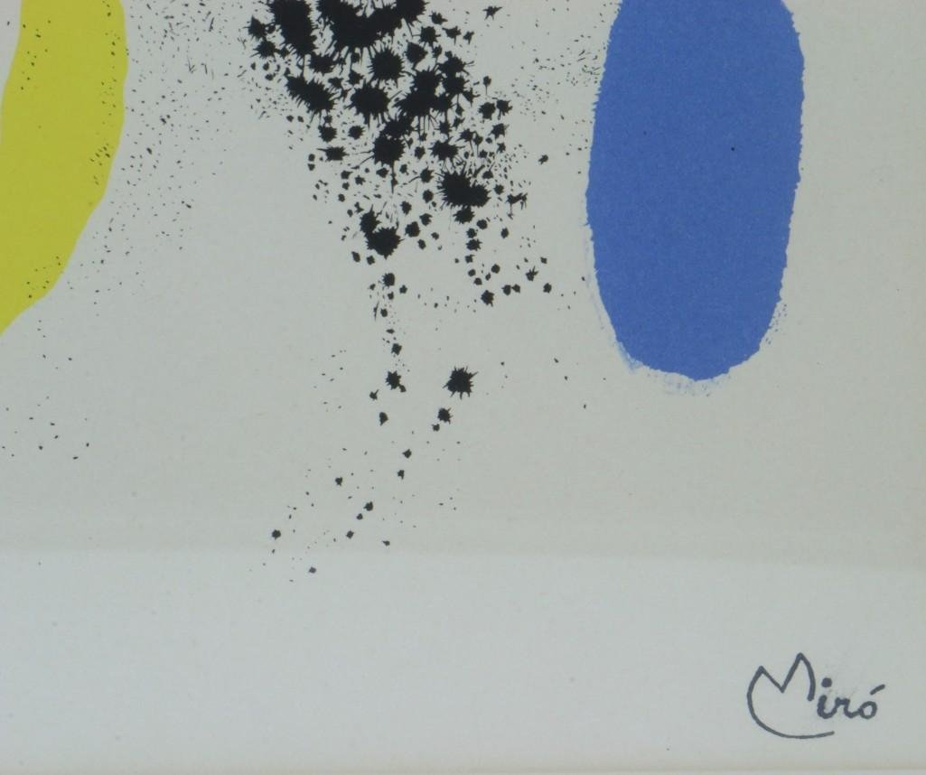JOAN MIRO LITHOGRAPH (1893-1983) - 2