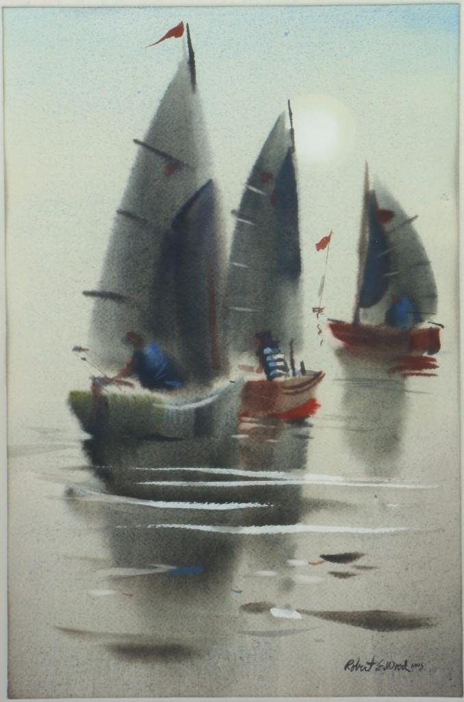 Robert Wood  (1926 - 1999) - 2