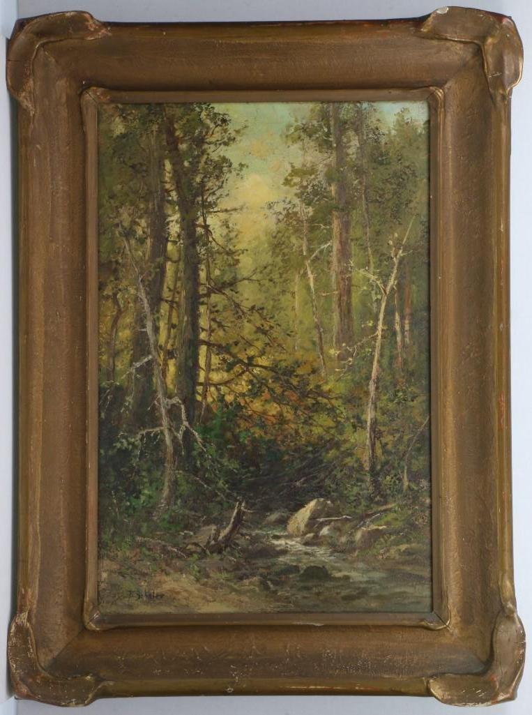 Frederick Schafer  (1839 - 1927) Painting
