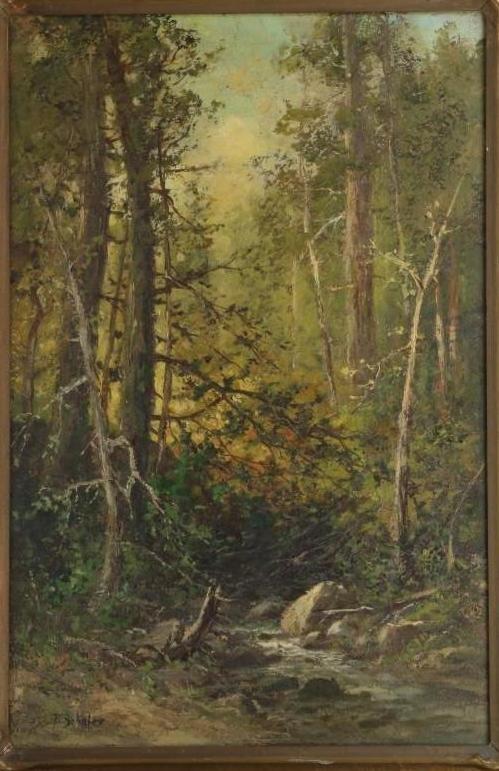 Frederick Schafer  (1839 - 1927) Painting - 2