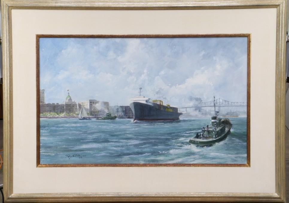 "Ray Ellis  (1921 - 2013) ""Savannah River"""