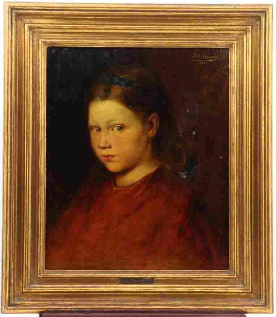 """Rudolf Arringer 1897 """"Portrait"""""""