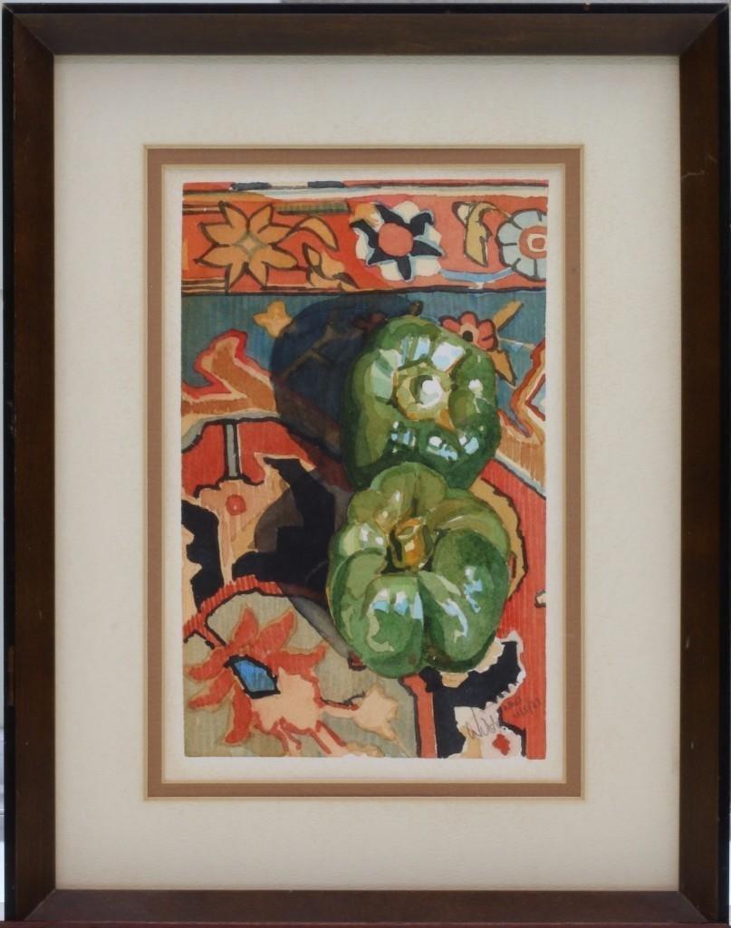 """Wilda Northrop  (born 1940) """"Peppers"""""""