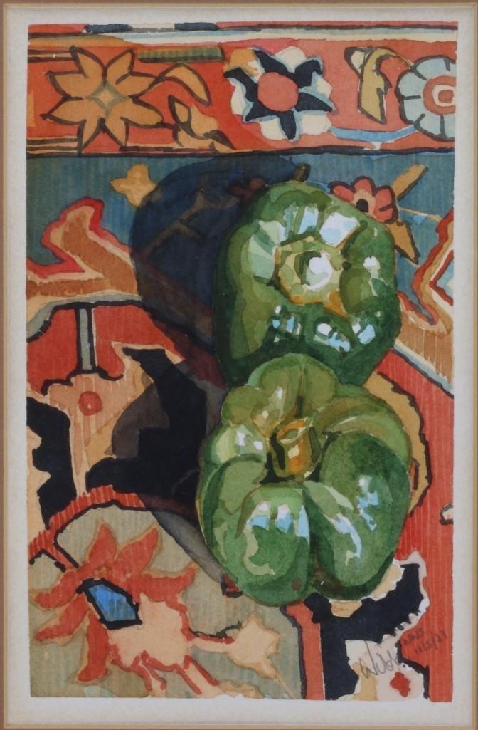 """Wilda Northrop  (born 1940) """"Peppers"""" - 2"""
