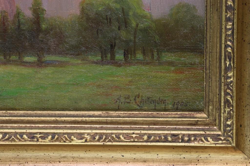 """Alice Chittenden  (1859 - 1944) """"California Landscape"""" - 3"""