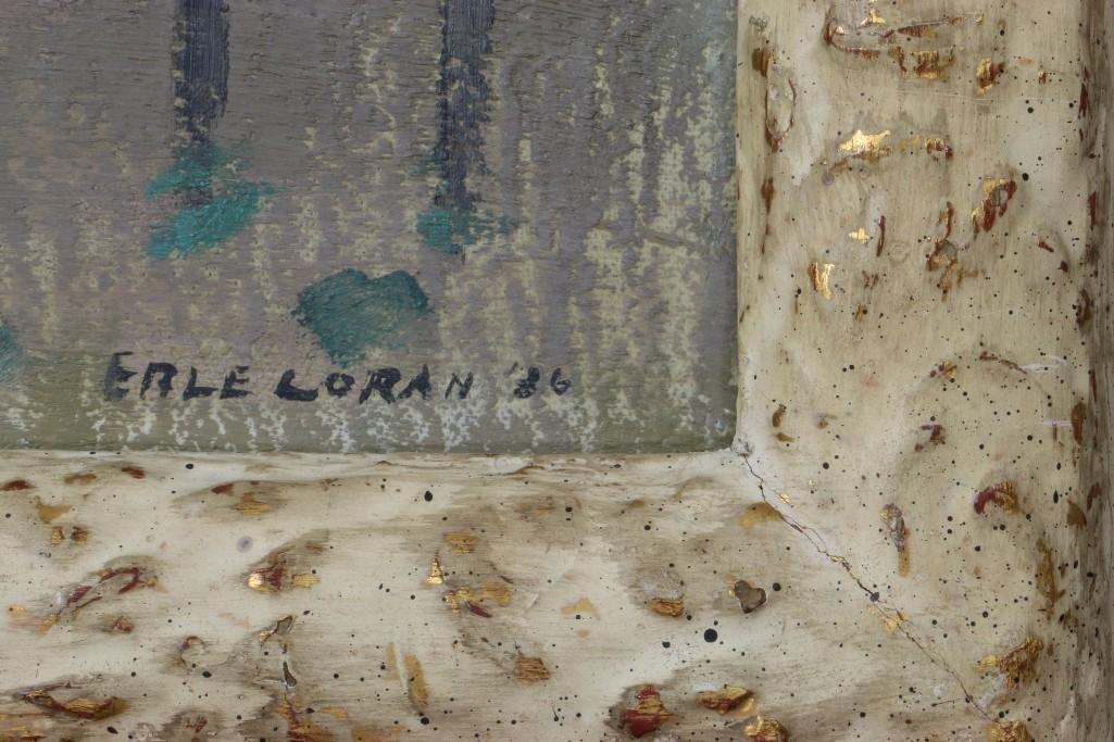 Erle Loran  (1905 - 1999) landscape with buildings - 3