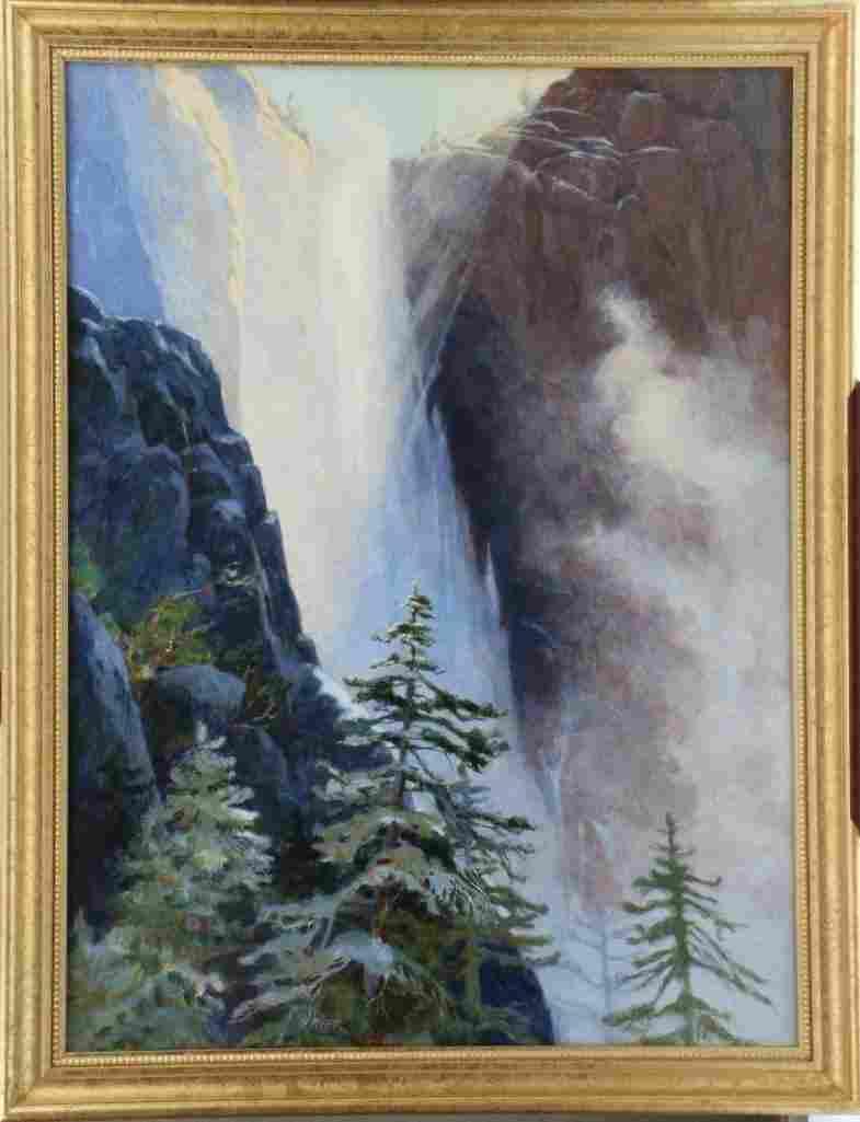 Jane Elizabeth Lingerfield Gyer  (1925 - 2004) Yosemite