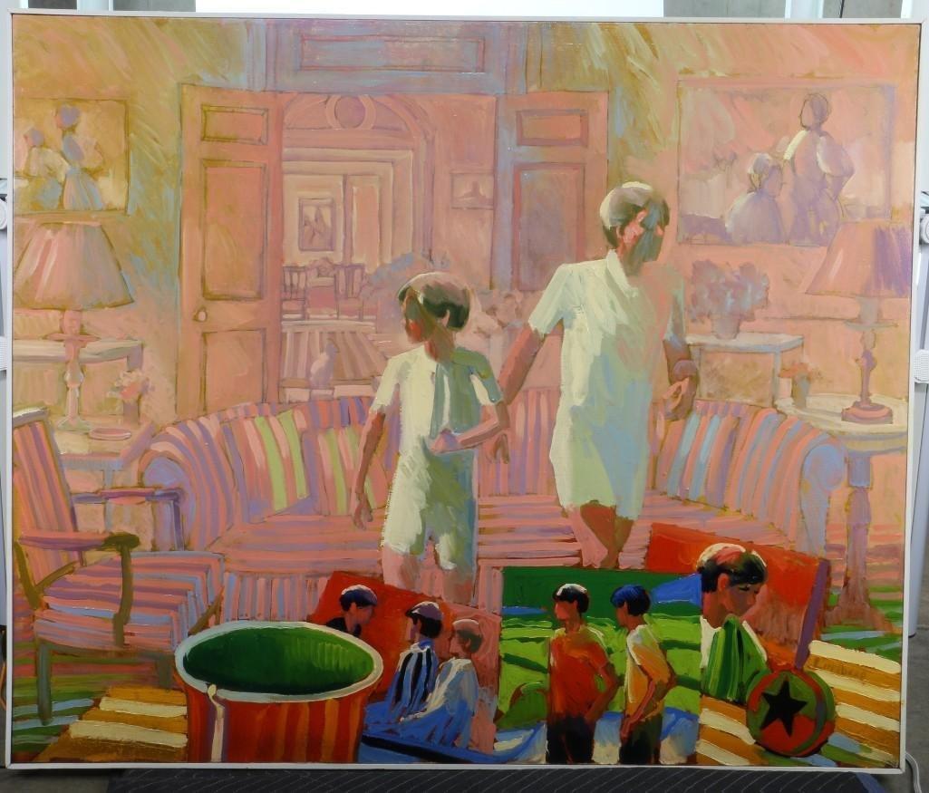Keith Lindberg  (born 1938) Painting