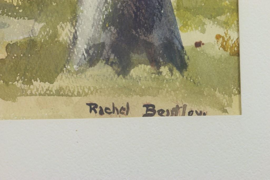 """Rachel Bentley (1894 -1991) """"Scenes of San Mateo County - 3"""