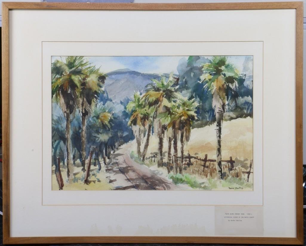 "Rachel Bentley (1894 -1991) ""Scenes of San Mateo County"