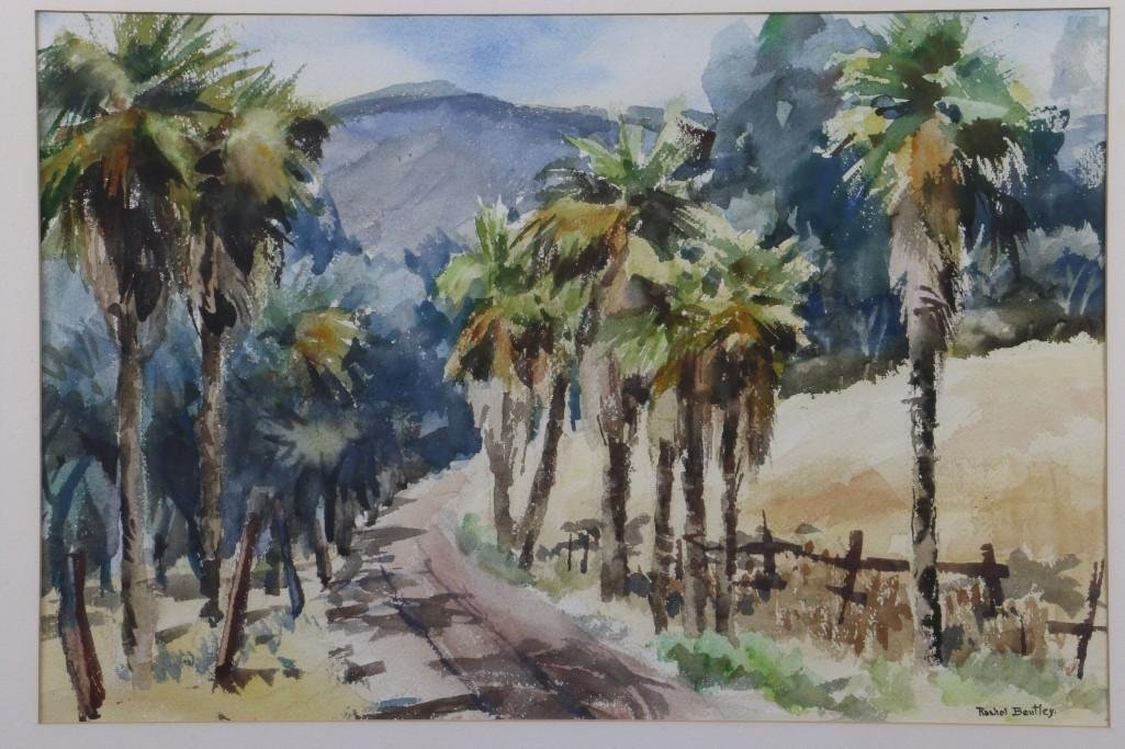 "Rachel Bentley (1894 -1991) ""Scenes of San Mateo County - 2"
