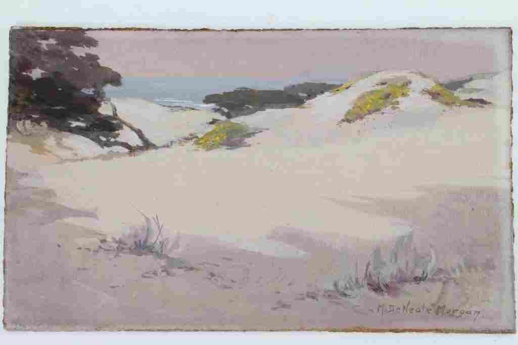 "Mary DeNeale Morgan  (1868 - 1948) ""Sand Dunes"""