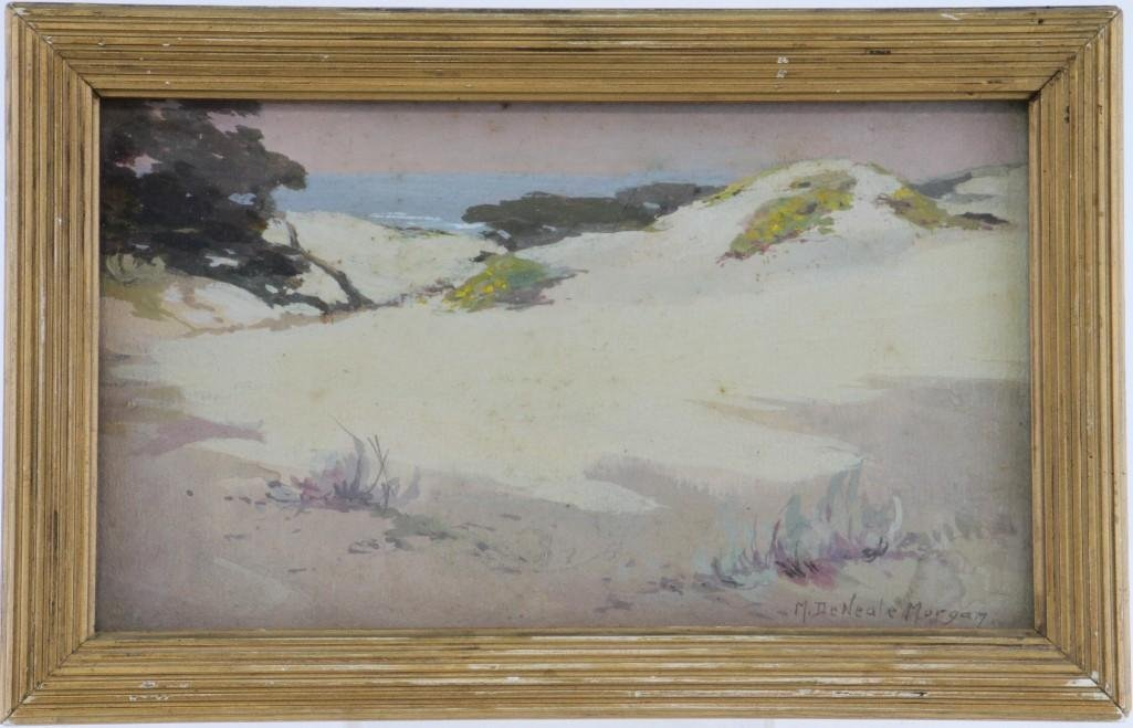 "Mary DeNeale Morgan  (1868 - 1948) ""Sand Dunes"" - 2"