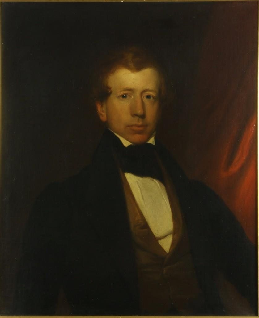19th century portrait painting (unknown sitter)