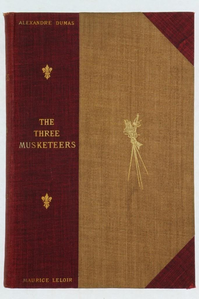 DUMAS. The Three Musketeers. 1894. Maurice Leloir. - 2