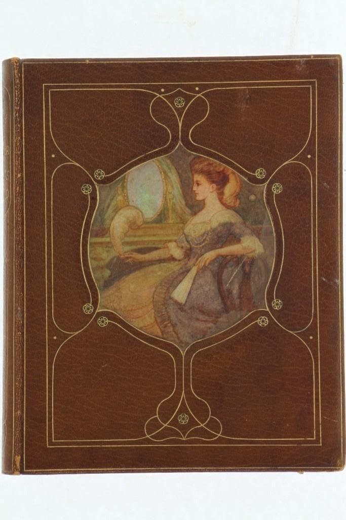 CHIVERS, CEDRIC. Fine signed vellucent inset binding.
