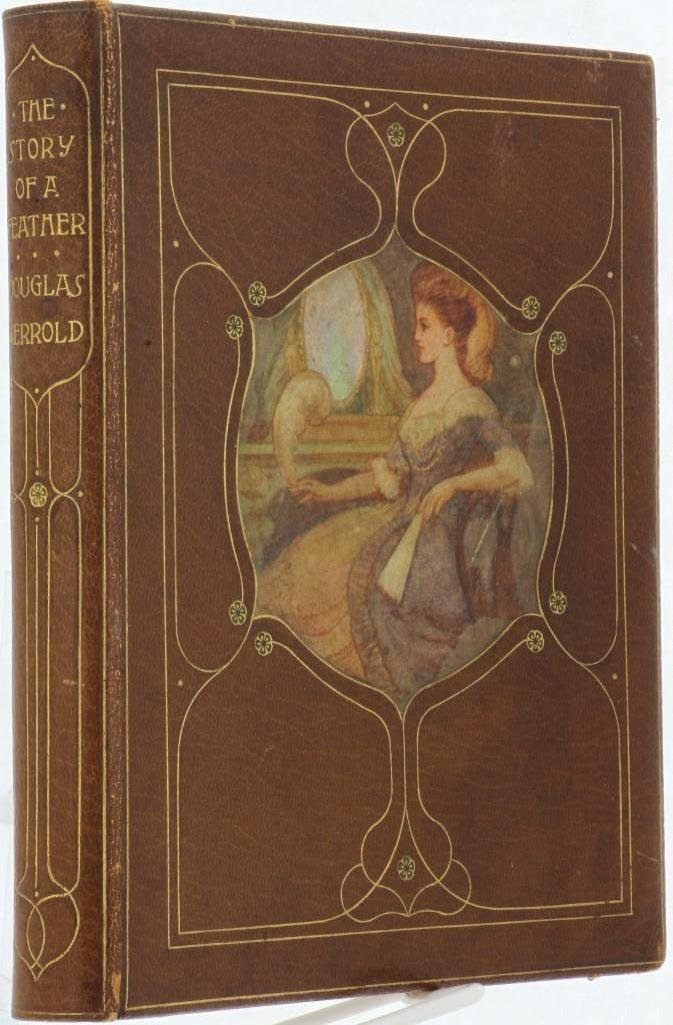 CHIVERS, CEDRIC. Fine signed vellucent inset binding. - 3