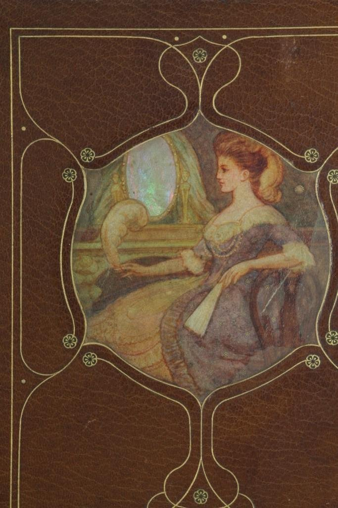 CHIVERS, CEDRIC. Fine signed vellucent inset binding. - 4
