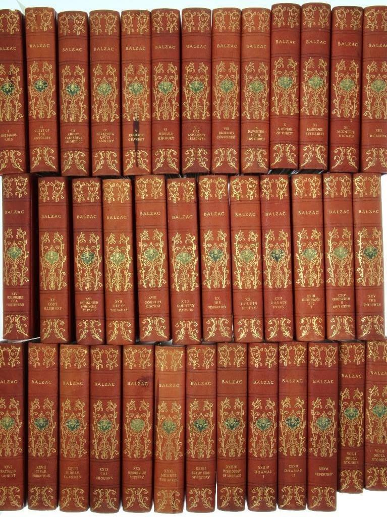 BALZAC. La Comedie Humaine 1901 Limited Oxford Edition - 4