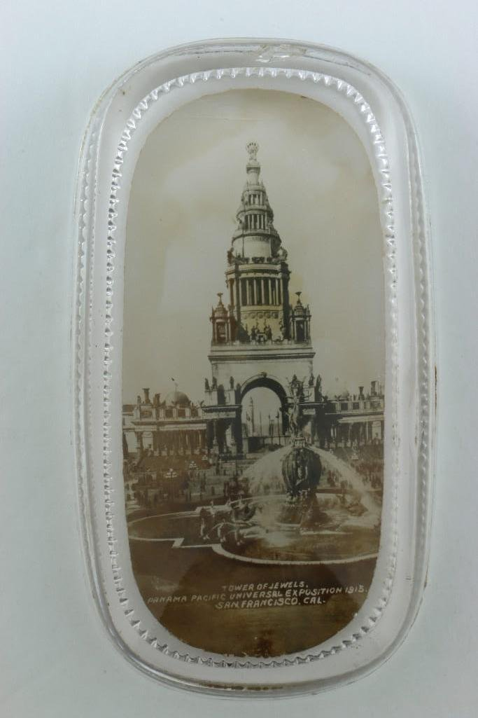 1915 PANAMA PACIFIC EXPOSITION PAPERWEIGHT