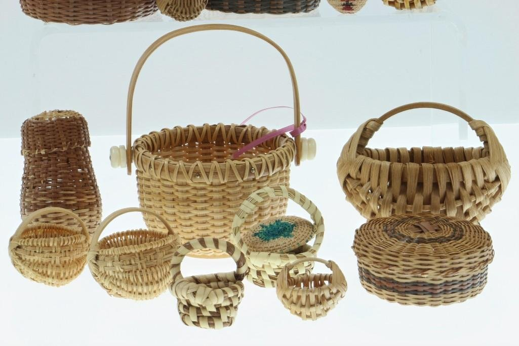 COLLECTION OF NORTH AND CENTRAL AMERICAN BASKETS - 4