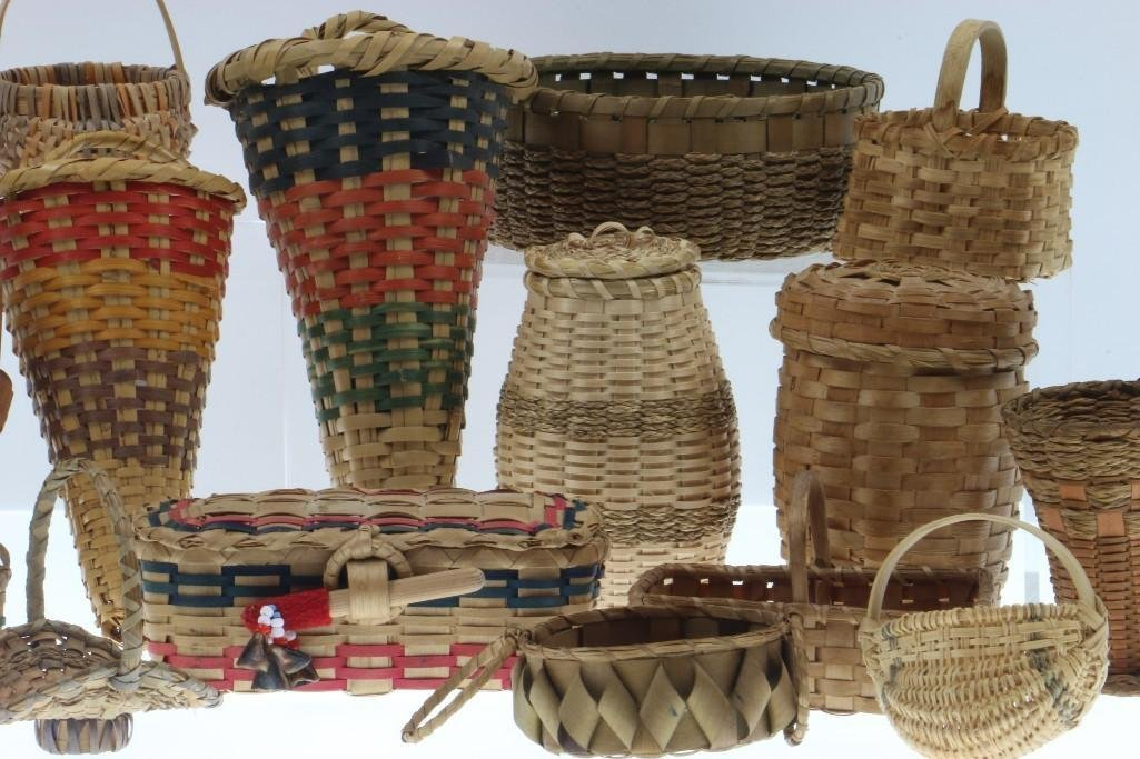 COLLECTION OF GREAT LAKES AND SOUTHEAST BASKETS - 3
