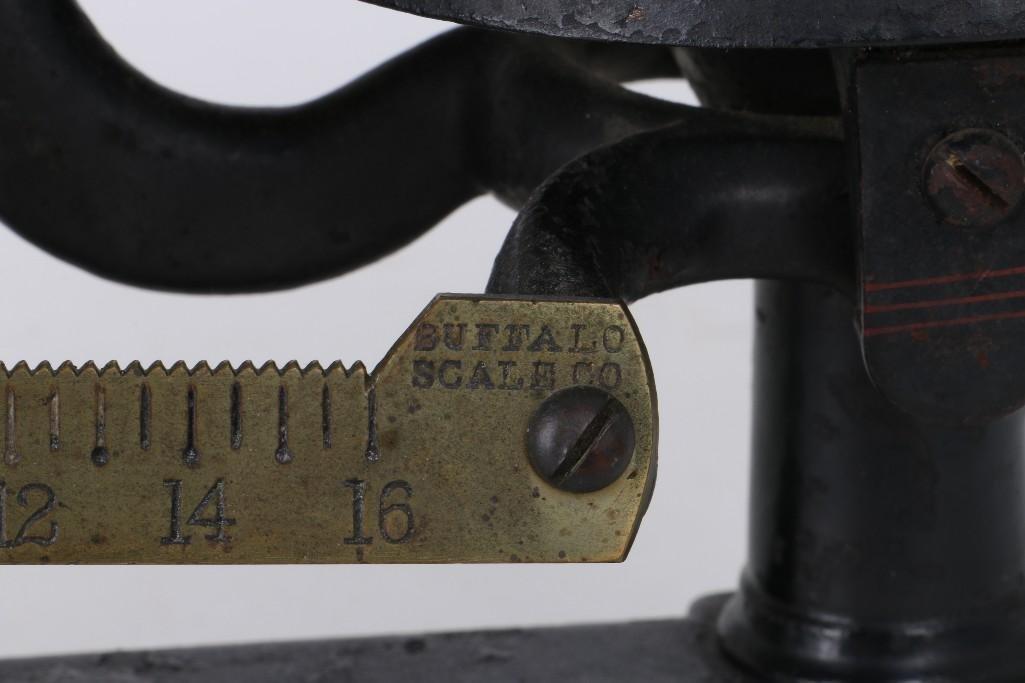 BUFFALO CAST IRON & BRASS BALANCE SCALES - 4